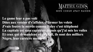 Maitre Gims - Longue vie Lyrics(Paroles)
