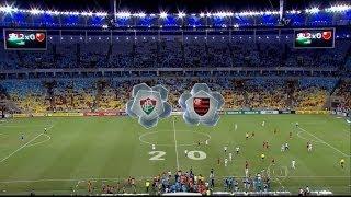 Fluminense 2 x 0 Flamengo - Brasileirão 2014 - 4ª Rodada - Jogo Completo - 11/05/2014 - HD 1080i