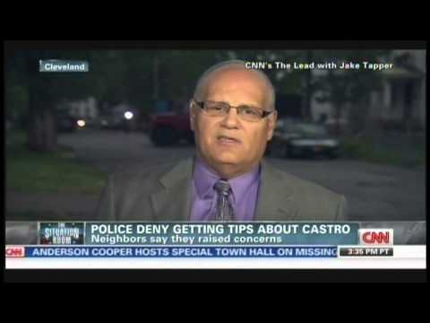Cleveland Police deny gettings tips about Ariel Castro, suspect's family speaking out (May 10, 2013)