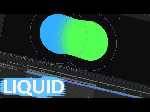 Liquid Animation Effect In After Effects Tutorial