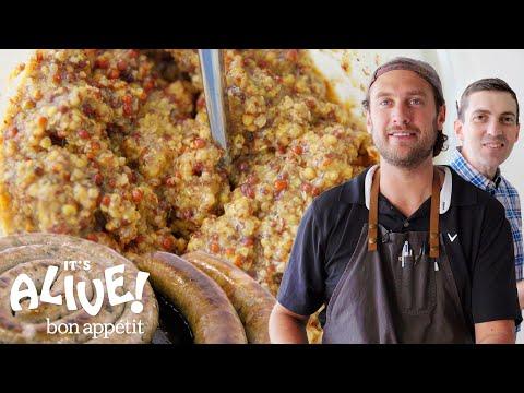 Brad Makes Mustard | It's Alive | Bon Appétit