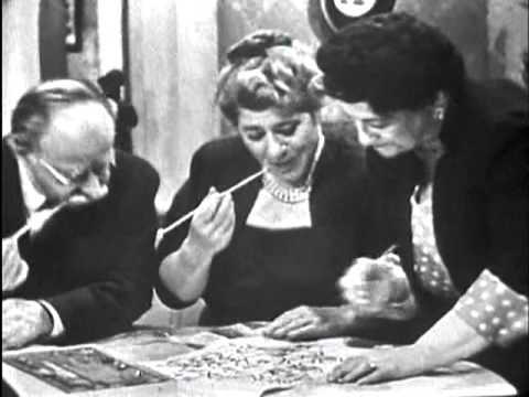 ''The Goldbergs'' - 1 June 1954 (DuMont Network)