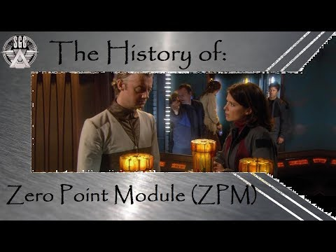 The History of: the Zero Point Module (ZPM)  (SGA & SG1)