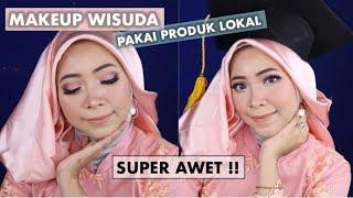 Download Video TUTORIAL MAKEUP WISUDA PAKAI PRODUK LOKAL SUPER AWET MP3 3GP MP4