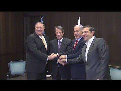 «Στρατηγική η συνεργασία Ελλάδας-Κύπρου-Ισραήλ, ιδιαίτερα για την ασφάλεια και την ενέργεια»