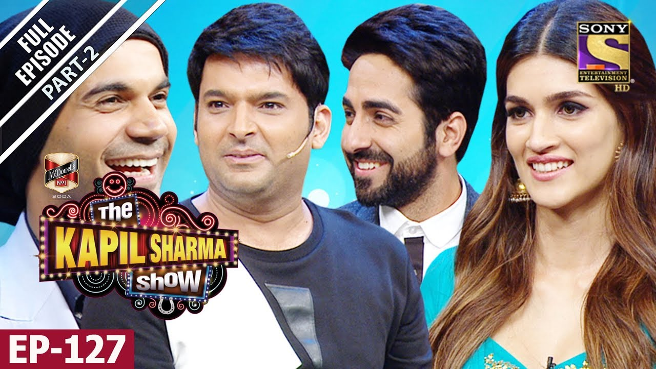 The Kapil Sharma Show – दी कपिल शर्मा शो- Ep -127 Part 2- Bareilly Ki Barfi Special – 13th Aug, 2017