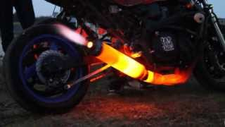 Crazy Motorbike Exhaust Pipe