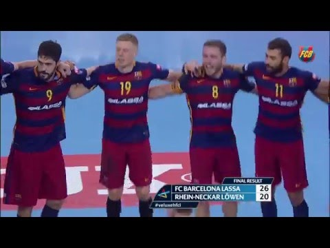 [HIGHLIGHTS] HANDBALL (Champions) : FC Barcelona Lassa 26 - 20 Rhein-Neckar Lowen