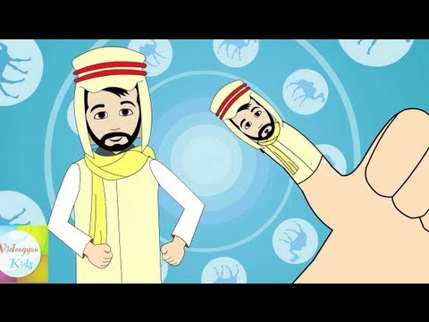 Finger Family (Arab Family) Nursery Rhyme | Cartoon Animation Songs For Children