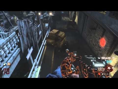 Black Ops 2 Zombies: Mob Of The Dead Round 79!
