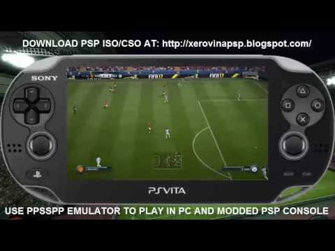 FIFA 17 PSP ISO Download Full Version