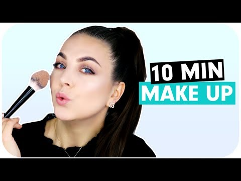 ALLTAGS MAKE UP ROUTINE unter 10 Minuten GRWM | Schicki Micki