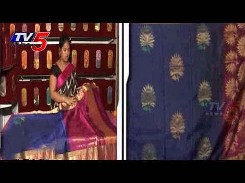 Snehitha | Paithani Pattu Sarees | PART 2 : TV5 News 25 July 2014 05 PM