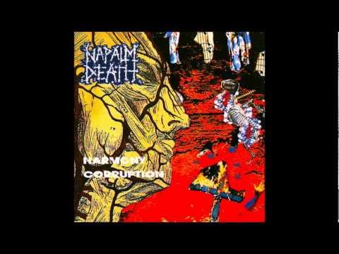 Napalm Death - Harmony Corruption [Full Album] видео