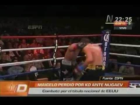 Jonathan Maicelo noqueado por Rustam Nugaev