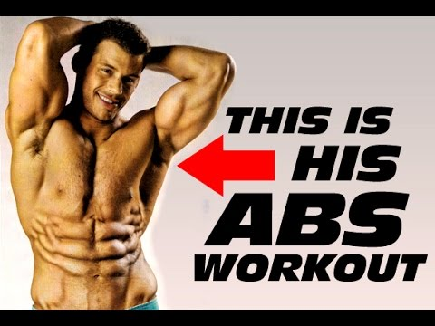 fitness - http://www.6weeksixpack.com Want to get Ripped 6 Pack Abs like a front Cover fitness Model? Then this abs workout is for you. Top fitness model Justin Woltering shares his 3 most powerful ab...