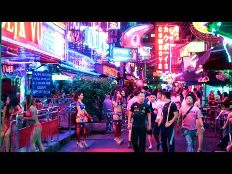 Download Bangkok Night walk - Soi Cowboy to Nana Plaza HD Mp4 3GP Video and MP3