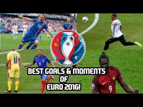 EURO 2016: Best Goals and Moments!