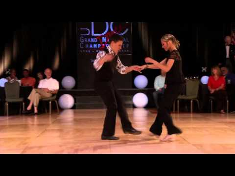 Brennar and Autumn Carolina Shag, Grand Nationals 2014