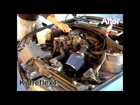 BMW E46 316i High induction air filter