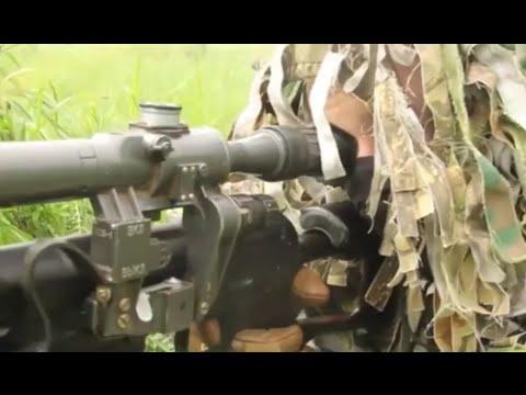 Лучшие снайперы ЦВО собрались на маневрах под Оренбургом (видео)