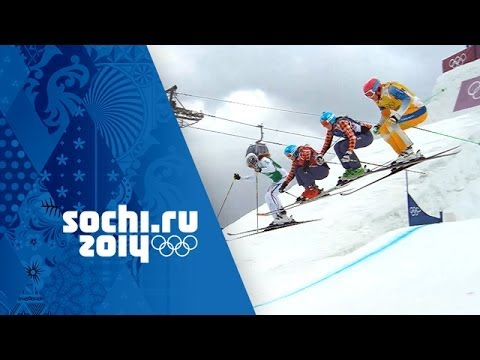 Canada's Marielle Thompson Wins Ski Cross Gold – Full Final | Sochi 2014 Winter Olympics