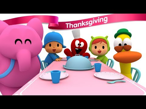 NEW EPISODE Pocoyo - You are Welcome for Thanksgiving