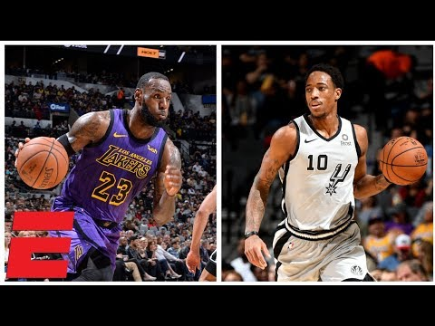 DeMar DeRozan outduels LeBron James as Spurs rally to beat Lakers   NBA Highlights