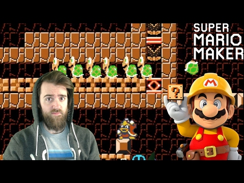 100 Mario No Death Masochist Challenge - Super Mario Maker (видео)
