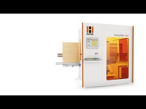 HOLZHER Evolution CNC Machining Solution Center