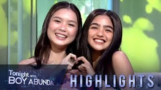 TWBA: Francine Diaz and Andrea Brillantes both likes K-Pop group BTS