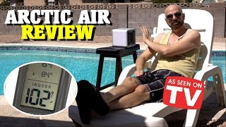 Video Arctic Air Review: Personal Space Cooler *As Seen on TV* MP3, 3GP, MP4, WEBM, AVI, FLV Juli 2018
