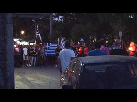 Χίος: Έκτροπα σε πορεία διαμαρτυρίας πολιτών για το προσφυγικό