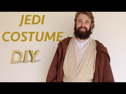 How To Make A Jedi Costume!