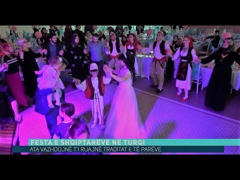 Festa e shqiptarëve në Turqi, kështu e dhezin atmosferën (Video)