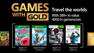 Игры которые станут доступны в августе для всех подписчиков Xbox Live с «золотым статусом» (Европа).Плейлист Games with Gold https://goo.gl/GrryLO• Мы ВКонтакте http://new.vk.com/mgames• Мы в Facebook https://www.facebook.com/mgamesua• Мы в Twitter https://twitter.com/mgamesNEWS• Мы в Google+ https://goo.gl/Lw3PnX• Мы в Одноклассниках http://goo.gl/2cFxzV• Магазин MGAMES http://mgames.com.ua• Моя страница ВКонтакте https://vk.com/id66699195• Группа канала ВКонтакте https://new.vk.com/mgames_tv• Прямые трансляции на Twitch http://www.twitch.tv/mgamesua