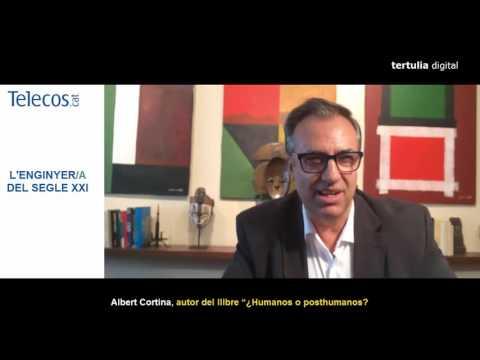 Albert Cortina se dirige a los ingenieros de telecomunicaciones el día de su patrón
