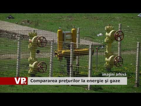 Compararea prețurilor la energie și gaze