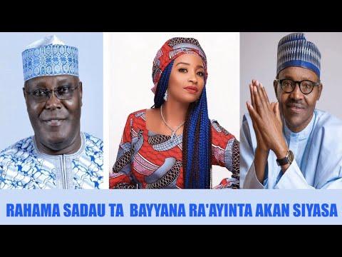 A Karon Farko Rahama Sadau Ta Bayyana Ra'ayinta Akan Siyasa | Kannywood News | HausaTop News