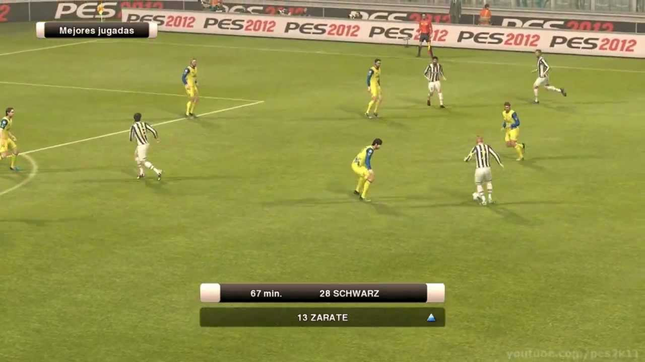 PES 2012 - Gameplay - Liga Master - 080 - JUVENTUS vs CHIEVO VERONA