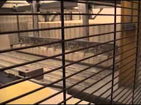 Automated bakery bread and roll line, two floors complete