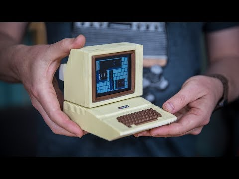 Building a Working Miniature Apple II Computer