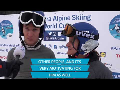 Day 1 highlights | 2018 World Para Alpine Skiing World Cup Kranjska Gora (видео)
