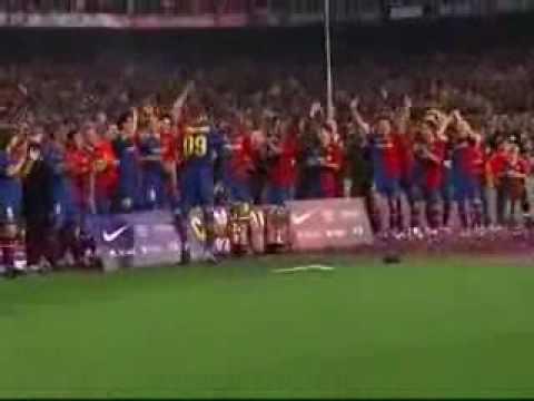 Lo mejor de Piqué en el Barça 2008/2009