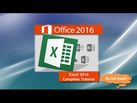 Excel 2016 Tutorial: A Comprehensive Guide On Excel For Anyone