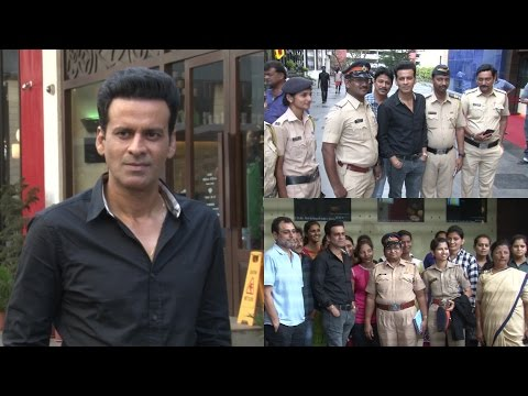 Special Screening Of Naam Shabana Commissioner Of Police Along With Female Police Officers Of Mumbai
