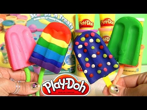 cream - Disney Collector presents this amazing Play Doh Ice Cream Set Scoops 'n Treats DIY tutorial on how to do-it-yourself playdough Desserts. Here's how Ice-Cream...
