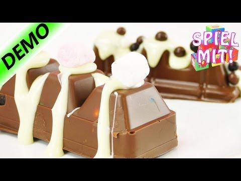Schokoriegel selber machen mit Chocolate Bar Maker   Oreo, M&M, Marshmallow und Skittles  Demo