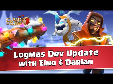 Clash of Clans Logmas Dev Update (December Update 2020)