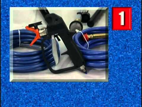 airless paint sprayer - Graco Magnum Airless Paint Sprayer Operational Video Part 1 Chapter 1: Basic Components Chapter 2: Setting Up Your New Sprayer Be sure to head over to http:/...